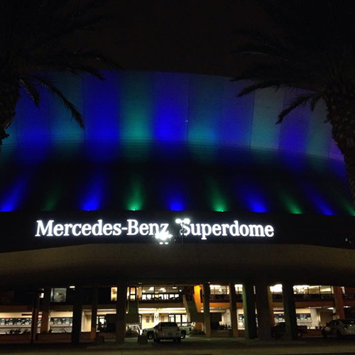 Nedawareness building lightings recap pictures for Mercedes benz nola