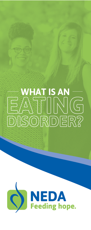 What is an Eating Disorder brochure preview